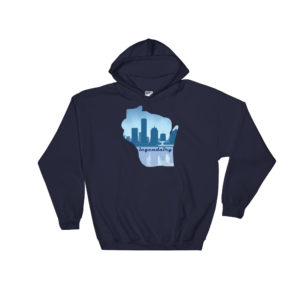 Skyline Cursive Hooded Sweatshirt